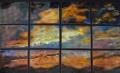 Sunset in Twelve Panels