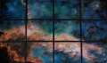 "A New Star in Twelve Panels, 36"" x 66"""